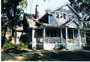 Malování domu u jezera 001
