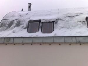 Petrovo malování - odklízení sněhu 01