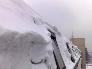 Petrovo malování - odklízení sněhu 05
