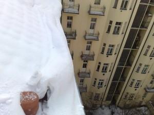 Petrovo malování - odklízení sněhu 08