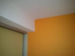 Malování ložnice nového domu v Praze 1