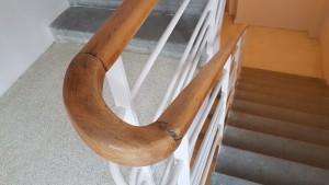 Rekonstrukce chodby se schodištěm foto