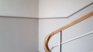 Rekonstrukce chodby se schodištěm foto, Petrovomalování