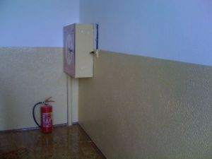 Malování interiéru – chodby základní školy 2