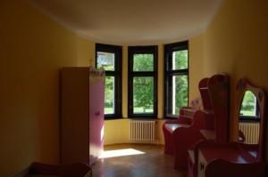 Malování vily ve Střešovicích v Praze